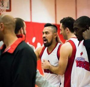 Kelvin dela Peña celebrates with Calgary Crush teammates. Photo by Jonard Tan.