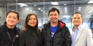 Pacquiao Visits Canada